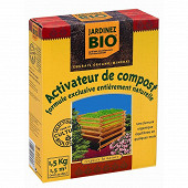 Activateur de compostage boite de 1.5 kg jardinage biologique