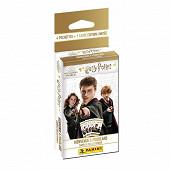 Album Panini - Harry Potter saga tc blister 4 pochettes + 1 carte édtion limitée