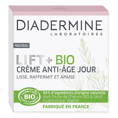 Diadermine Diadermine lift+ bio creme jour bio cosmos 50ml