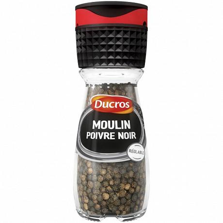 Ducros moulin poivre noir 35g