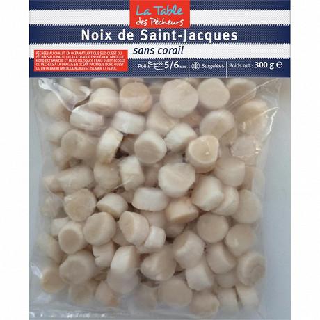 La Table des Pêcheurs noix de Saint-Jacques sans corail 300g