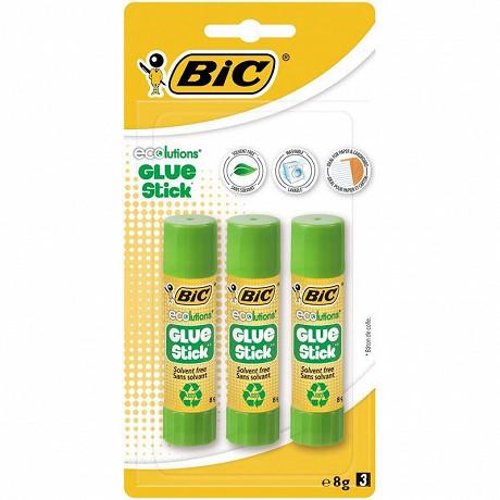 Bic colle stick écolution glue 8 gr x3