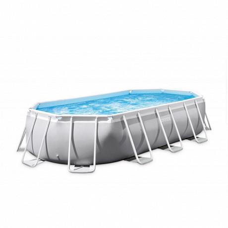 Kit piscine tubulaire ovale 4mx2mx1m
