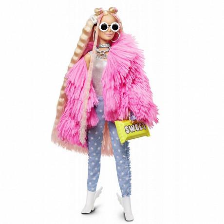Barbie extra veste rose