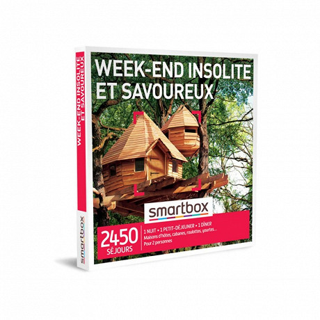 Smartbox Week-end insolite et savoureux