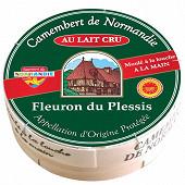 Fleuron du Plessis Camembert de Normandie au lait cru AOP 20%mg 250g