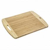 Planche à découper avec anse bambou 40 x 30 cm