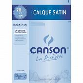 Canson - Pochette calque 10 feuilles a3 29.7x42 cm 70 grammes