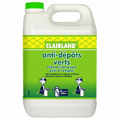 Clairland anti-mousses algues & lichens toiture terrasses, dallages, mur 5l