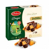 Delacre Bruges Pâques lot 2x200g