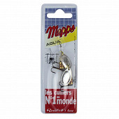2 cuillers mepps aglia argent N1