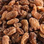 Juste bio raisins secs