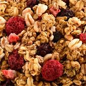Juste bio granola fruits