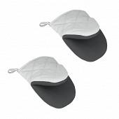 2 gants de protection thermique
