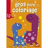 Mon gros livre de coloriage : dinosaures