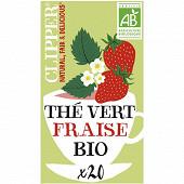 Clipper thé vert fraise 35g
