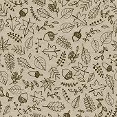 Paquet 25 serviettes 33x33 cm, recycling tissue, 2 plis, Autumnmix