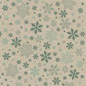 Paquet 25 serviettes 33x33 cm, recycling tissue, 2 plis, snowflakes pattern