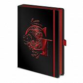 Notebook a5 harry potter gryffondor