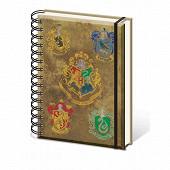 Notebook a5 harry potter poudlard