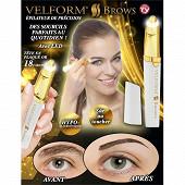 Venteo épilateur sourcils velform brows WIZ06