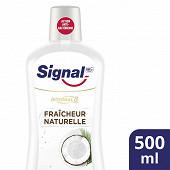 Signal Integral 8 bain de bouche noix de coco fraicheur naturelle 500ml