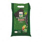 Engrais gazon + correcteur d'acidite uab 10 kg