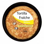 Tortilla fraiche nature 500gr