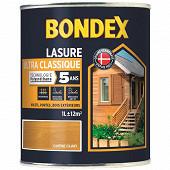 Bondex lasure ultra classique 5 ans chêne clair 1l