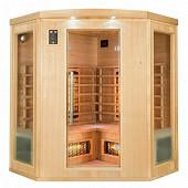 Sauna infrarouge Apollon Quartz 3/4 places angulaire