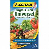 Algoflash engrais bleu universel 3kg