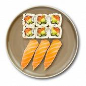 Snack saumon