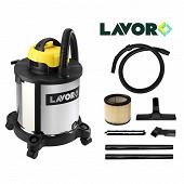 Lavor aspirateur à eau et poussière dvc20xt