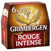 Grimbergen rouge 6x25cl Vol.5.5%
