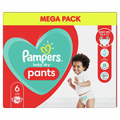 Pampers baby dry pants couches-culottes geant taille 6 66 culottes 15kg+