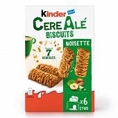 Kinder barre 7 céréales noisette x6 204g