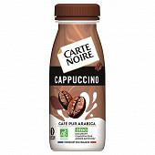 Carte noire bouteille café cappuccino bio 250ml