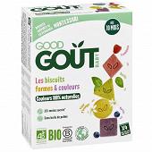 Good goût biscuits formes et couleurs dès 10 mois 80g