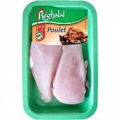 Reghalal escalopes de poulet halal x2