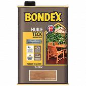 Bondex huile teck renovatrice naturel ambre mat 1l