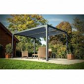 Pergola bioclimatique structure aluminium  10.80 m2