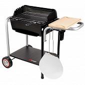 Somagic barbecue roma charbon de bois 63x42cm  en fonte-réf 399100b