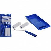 Kit d'outils 4 pièces pour peinture mur et plafond