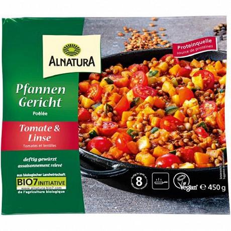 Alnatura poelée tomates - lentilles bio 450g