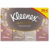 Kleenex ultrasoft mini regular x20+4