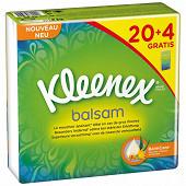 Kleenex balsami etuis regular x20+4