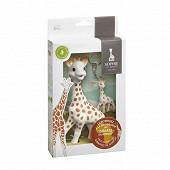 Coffret Sophie la girafe + porte-clé Sophie la girafe