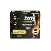 UM batterie YTX20-3