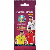 Album Panini - UEFA Euro 2020 tcg 2021 kick off fat pack 24 cartes + 2 cartes rares