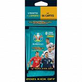 Album Panini - UEFA Euro 2020 tcg kick off blister 6 pochettes + 1 offerte